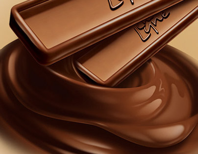 Chocolate Bar Illustration