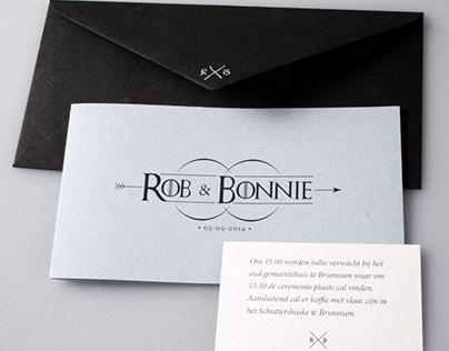 Wedding Logo & Card design