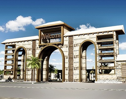 Touristic Village On Suez Canal  #Co_Work