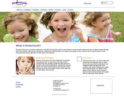 Kindermusik Kidsco Website Redesign