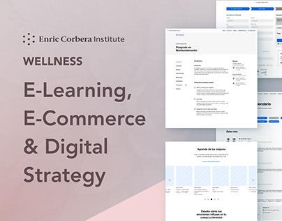 Enric Corbera Institute - Site Redesign