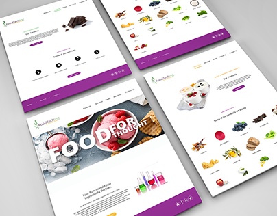 Art Direction / Web Design / Food Technology