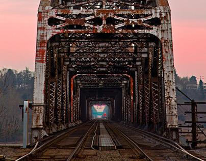 Burlington Northern Railway Bridge - Portland, Oregon