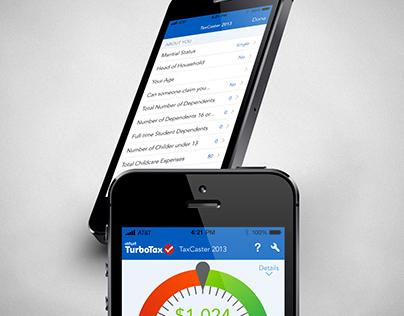 TurboTax Tax Caster , SnapTax 2014 IOS7