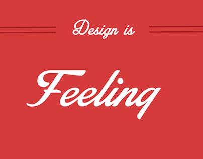Design Is Feeling