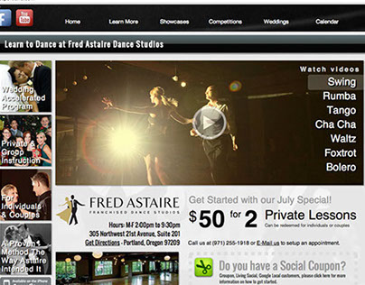 Fred Astaire Portland