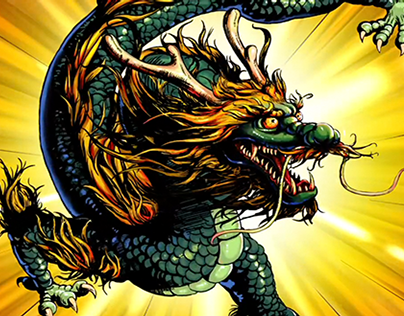 NIKE - YEAR OF THE DRAGON ANIMATION 2012