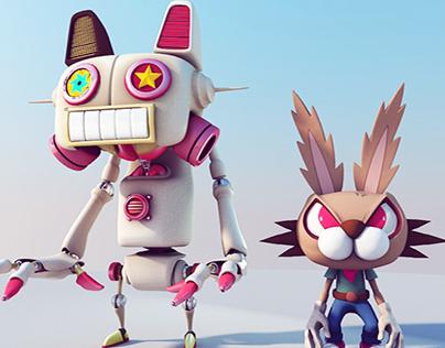 Bunny VS The Sweet Iron Cat