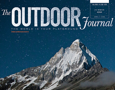 Magazine Design | The Outdoor Journal