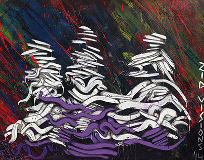 Untitled Livepainting by ZiD Visions '14