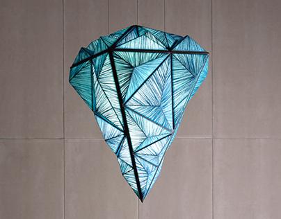 The Diamond Pyramid Pendant