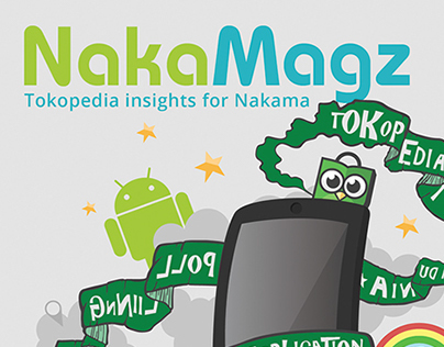Nakamagz Vol. 2 Cover Illustration