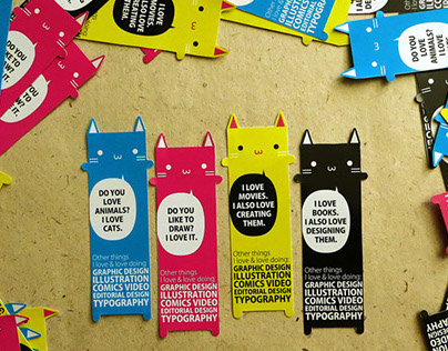 Business Cards  - Cat Edition