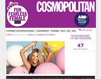 Fun Fearless Female 2014 - Cosmopolitan's Contest