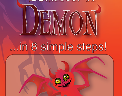 """Infographics/ Brochure """"How To Summon A Demon"""""""