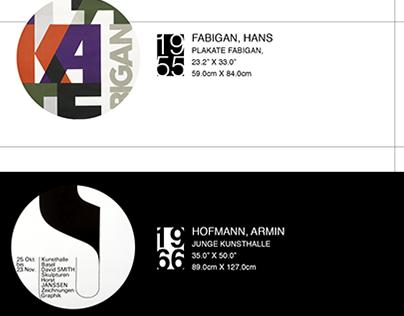 International Typographic Style Poster
