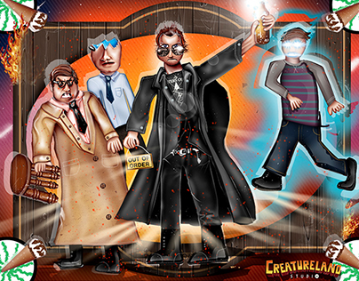 """6 year old's """"The World's End"""" drawing brought to life"""