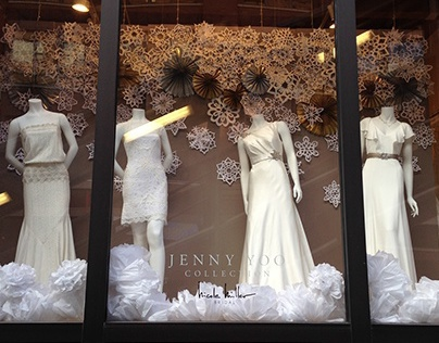Winter Window 2013 at The Jenny Yoo Collection Chicago