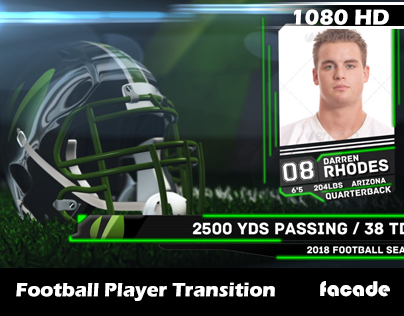 Football Player Headshot Transition