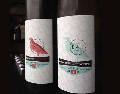 Cask & Larder Wine Packaging