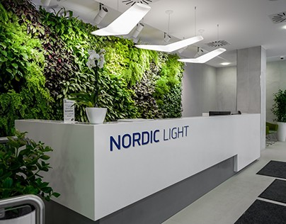 Nordic Light Office Buliding Wayfinding System