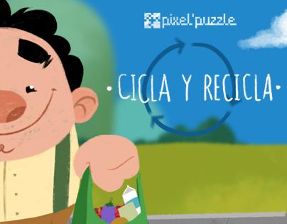 Cicla y Recicla - Animated Shortfilm