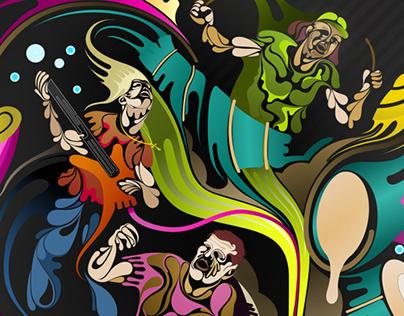 Prog Rock - Flying Colours Album Launch