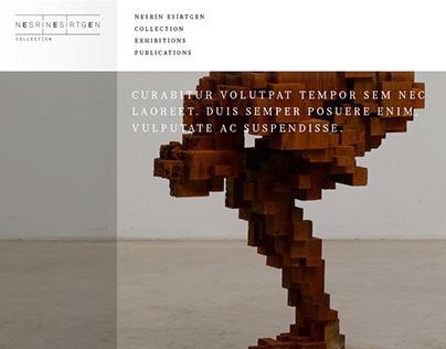 Nesrin Esirtgen Collection web site