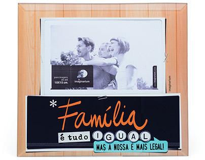 Photo Frame Família Mais Legal