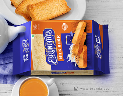 Brunchies Bakes Product Packaging Design