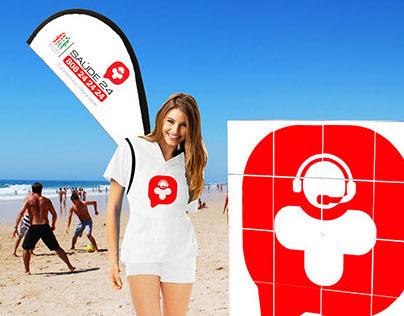 Linha Saúde 24 Summer Campaign