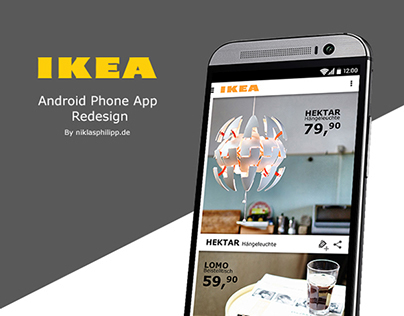 IKEA Android App Redesign