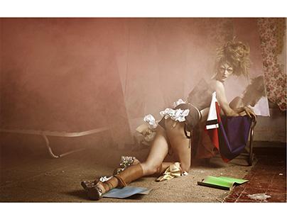 Editorial M MARGIELA couture