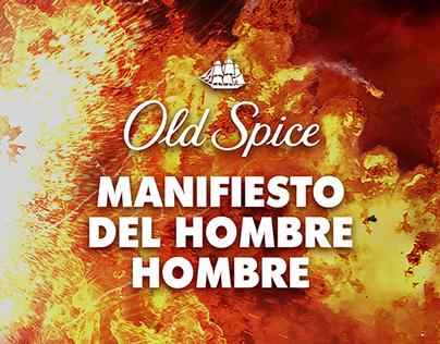 Print   Manifiesto del Hombre Hombre   Old Spice