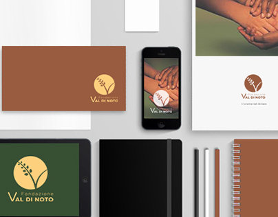 Logo and Brand Manual for Val di Noto Foundation