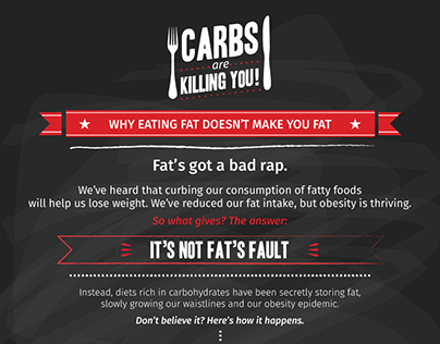 Carbs are Killing You!