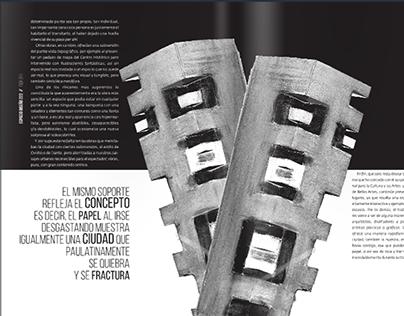 Espacio Diseño, Revista // Diseño Editorial.