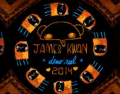 JAMES KWAN SHOWREEL 2014