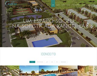 Costero Grand Park Resort - Landing Page
