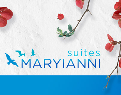 Maryianni Suites I Logo & website creative