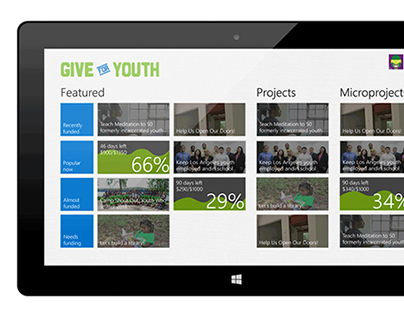 Microsoft Give For Youth/YouthSpark