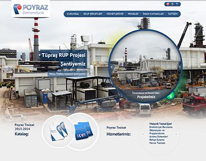 Poyraz İnşaat Corporate Website