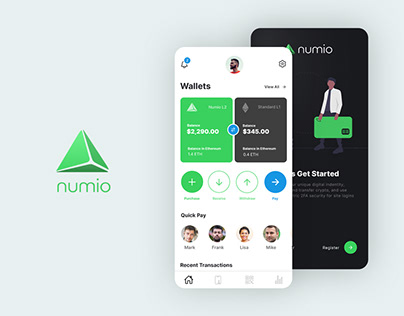 Cryptocurrency Wallet - Numio