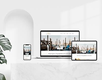 Website redesign - Luxury Food