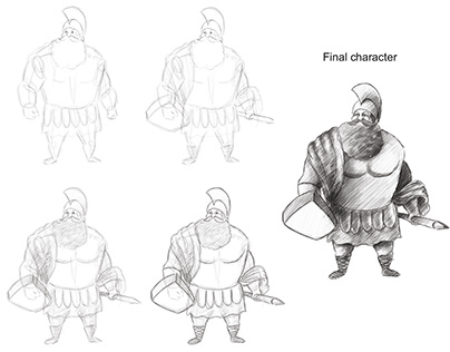 Story Boarding with Character Design