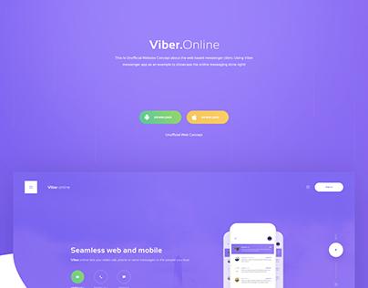Viber Online Web Platform