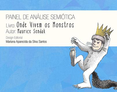 """Análise semiótica do livro """"Onde Vivem os Monstros"""""""