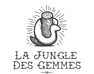 La Jungle des Gemmes, Logo identity