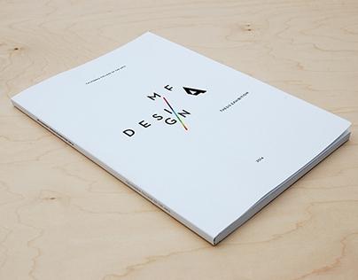 MFA Design 2014 Thesis Exhibition Catalog