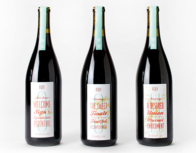 Bloch Wine Packaging